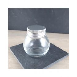 Pot rond en verre