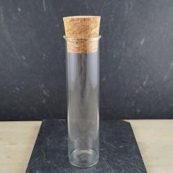 Eprouvette en verre 10cm