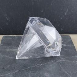 Boite diamant transparente
